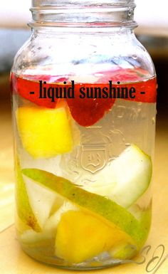"Vitamins for energy ♥ Natural vitamins for energy  ""Liquid Sunshine Vitamin Water- This vitamin water is ideal for those dark, gloomy days when you are feeling low on energy and need a boost of vitamin D."""