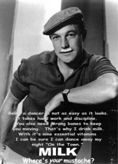 gene kelly.... Wow this ad is that old!!!???