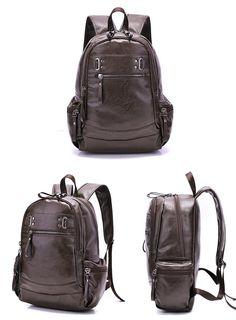 Men s Shoulder Bags Fashion Male Business Casual Men Backpack School Bag  Business Casual Men 76cb65434d3e7