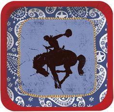 Cowboy Birthday Tableware