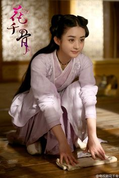 Zhao Li Ying in Chinese TV period drama series 花千骨 / The journey of flower.