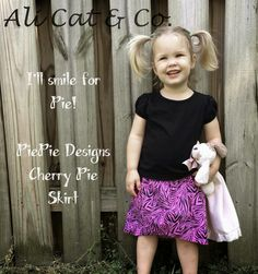 Ali Cat & Co.: PiePie Designs : Cherry Pie Skirt