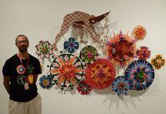 The AAMU congratulates Brian Robinson & Churchill Cann for winning the fifth Western Australian Indigenous Art Award!