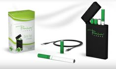 Groupon - Menthol or Tobacco Rechargeable eCig Kit with Charging Pack, Battery, and 2 Cartomizers from Premium Vapes in Online Deal. Groupon deal price: $24.99 #ecigs #groupon