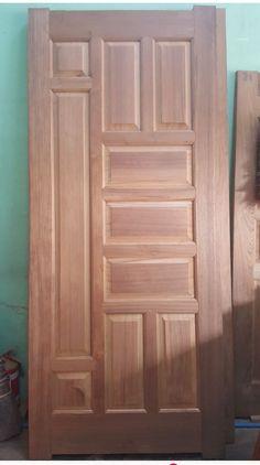 Single Main Door Designs, House Main Door Design, Wooden Front Door Design, Pooja Room Door Design, Bedroom Door Design, Wood Front Doors, Door Design Interior, Modern Wooden Doors, Ceiling Design