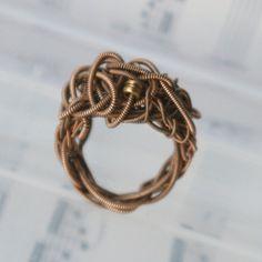 Guitar string ring