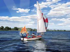 the sailing trip by *PinkBunnyLilli on deviantART