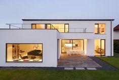 Berschneider + Berschneider, Architekten BDA + Innenarchitekten, Neumarkt: Neubau WH M (2012) #casasmodernasmexicanas