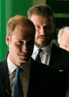 Prince William, Duke of Cambridge and David Beckham attend the launch of United for Wildlife campaign at Google Town Hall, 09.06.2014 in London, England.