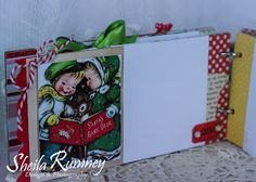 I have been in the Christmas mood lately... especially since I have been designing this Merry Little Christmas Mini Album  that I will be ...