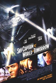 Sky Captain and the World of Tomorrow (2004) Gwyneth Paltrow, Jude Law, Angelina Jolie, Giovanni Ribisi