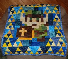 Legend of Zelda quilt