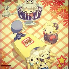 I love the little Sealand randomly sitting in French fries.