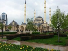 """Mosque """"Heart of the Chechnya"""" in Grozny"""