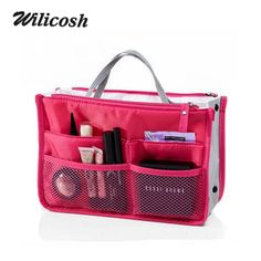 2016 Multifunction Nylon Makeup Organizer Bags For Women Cosmetic Bags Toiletry Kits deporte Travel Bags Ladies Bolsas DB5403 #outfitoftheday #model #cute #fashion #stylish #beauty #jewelry #hair #outfit #purse #styles #makeup #style #beautiful #jennifiers