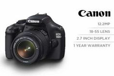 Canon 1100D 18.55mm Lens Kit (12.2 megapixel SLR Camera)