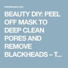 how to clean nose pores
