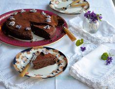 Lavender and Lovage Chocolate Drizzle Cake, Chocolate Cream Cheese, Organic Chocolate, Chocolate Truffles, Wheat Free Baking, Slow Roast Lamb, Creme Egg, Cake Truffles, Lamb Recipes