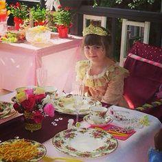 Princess tea party !!