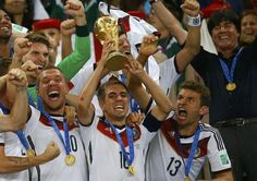 Germany's Triumph Result of Team Work, Says Philipp Lahm. FIFA World Cup 2014