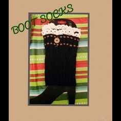 HP WINTER ESSENTIALS BOOT SOCKS Cute Boot Socks Accessories Hosiery & Socks