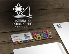 "Check out new work on my @Behance portfolio: ""Insituto Bordado Filé"" http://on.be.net/1NFe2RH #identidadevisual #logotipo #logo #marca #designgrafico #corporateidentity #brand #design #adnael"