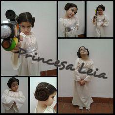 cosas de Harne: Disfraz de Princesa Leia