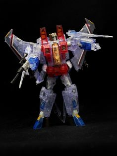 Transformers Masterpiece MP-03G Starscream (Ghost Ver.)