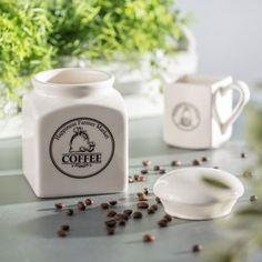 Keramická dóza na kávu Farmer Market Farmers Market, Bar, Marketing, Coffee, Tableware, Kaffee, Dinnerware, Tablewares, Cup Of Coffee