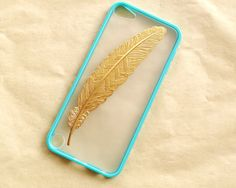 iPod Touch 5 Case Golden angle Feather white by wesweetlife, $9.99