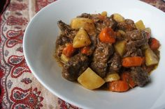 Apple Cider Beef Stew