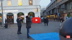 One way of spreading dawah is like what IIC Sweden is doing. Performing beautiful adhan in the streets of Sweden!