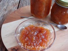 We have a Feijoa tree in our backyard. I picked fruit and made a lovely, sweet jam. It was the first time I have tried Feijoa now I am hooked! Jam Recipes, Canning Recipes, Jam And Jelly, In Season Produce, Seasonal Food, Marmalade, Preserves, Pudding, Yummy Food