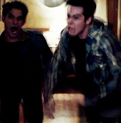 Lol Stiles and Scott attacking the hot new guy, Liam ❤️ LOVE THIS TOO MUCH season 4 super promo