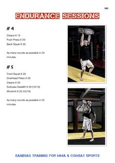 From my recent book release Sandbag Training For MMA & Combat Sports