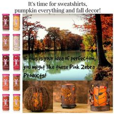 Beautiful fall home decor. Soy wax sprinkles that smell SO good!