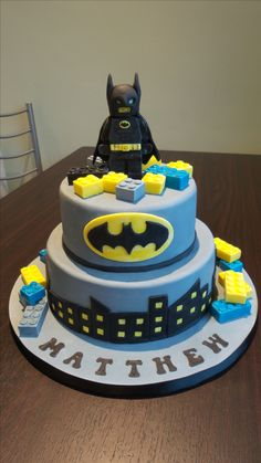 Lego Batman Cake on Cake Central Jayden Birthday Party