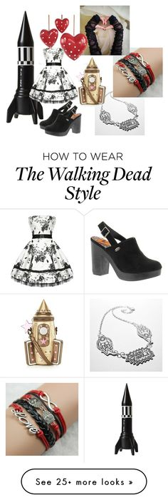 """""""Love and Rockets"""" by pampire on Polyvore featuring Accessorize, Rocket Dog, women's clothing, women, female, woman, misses and juniors"""