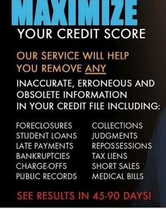 18 Best Fes Credit Restoration Services Images On Pinterest