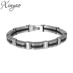 XINYAO  Mens Stainless Chain Bracelet