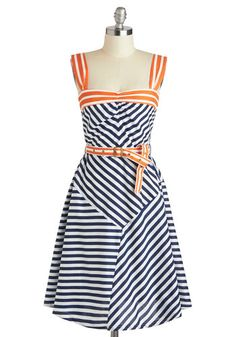 Modcloth Every Which Wave Dress