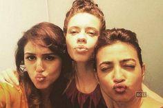 Kalki Koechlin shares 'pouty' selfies with Huma Qureshi