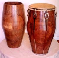 Del Ceilo Congas, solid shell beauties