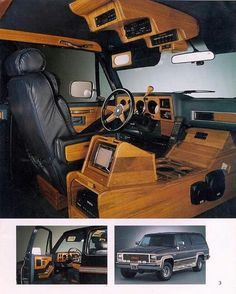 """- Omg i wish my suburban was a starcraft so bad like this one 😍Suburban conversions : This one is a """"starcraft"""" one of the biggest companies to make a suburban package and some of the coolest features Camping Chuck Box, Truck Camping, Custom Car Interior, Truck Interior, Custom Chevy Trucks, Custom Cars, Chevy Conversion Van, Self Build Campervan, Car Audio Installation"""