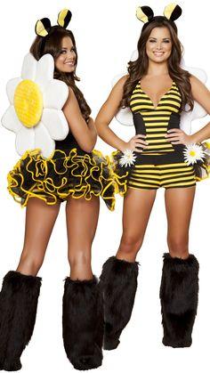sexy bumble bee halloween costume - Bee Halloween