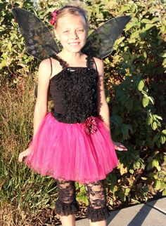 Gothic Fairy in Hot Pink and Black Zebra by Passion4Expression, $47.00