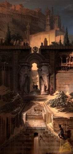 Prince of Persia: The Forgotten Sands - Environment Art.