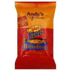 Authentic Andy's Cajun Fish Breading 10 Oz(Pack of 2), ,