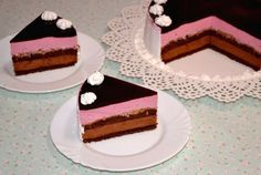 Tort cu ciocolata, mure si crema caramel Creme Caramel, Something Sweet, Cakes, Desserts, Tailgate Desserts, Creme Brulee, Deserts, Cake Makers, Kuchen