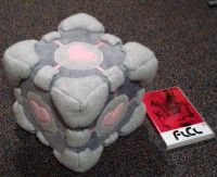 Companion Cube Plushie sewing pattern: I could of saved so much money from the valve store